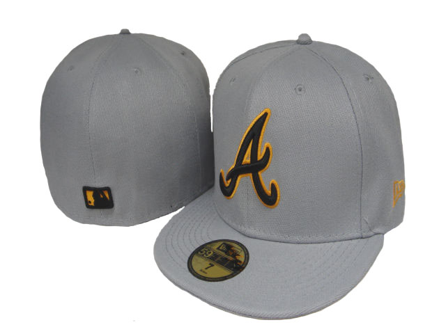 Atlanta Braves MLB Fitted Hat LX34