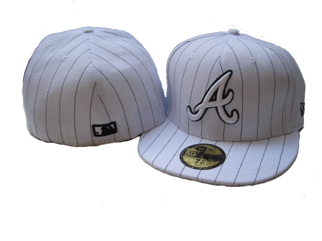 Atlanta Braves MLB Fitted Hat LX35