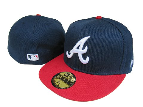 Atlanta Braves MLB Fitted Hat LX36
