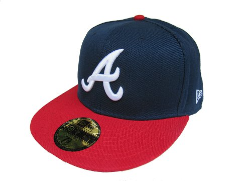 Atlanta Braves MLB Fitted Hat LX37