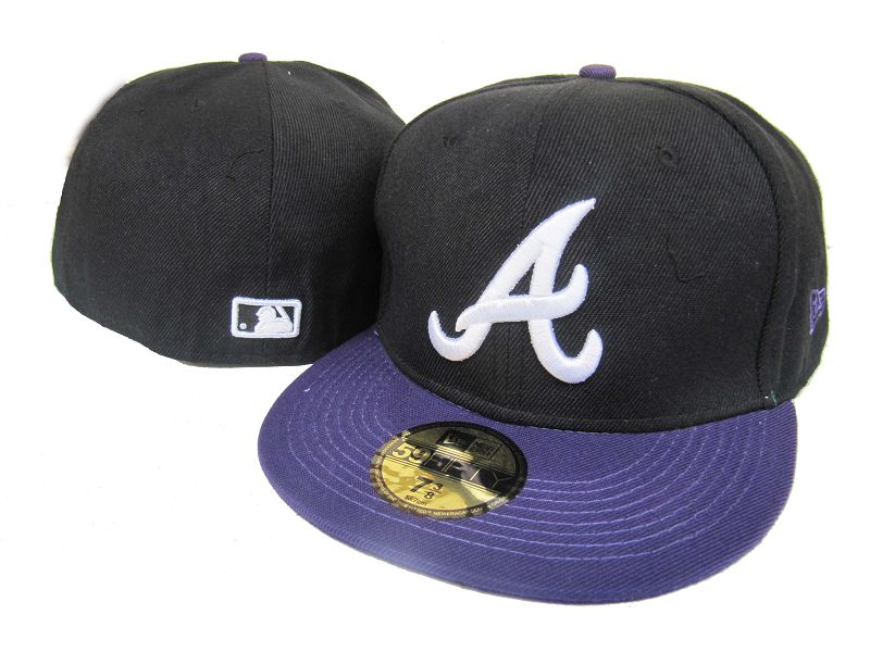 Atlanta Braves MLB Fitted Hat LX39