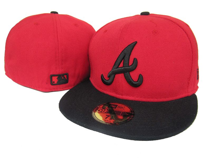Atlanta Braves MLB Fitted Hat LX40