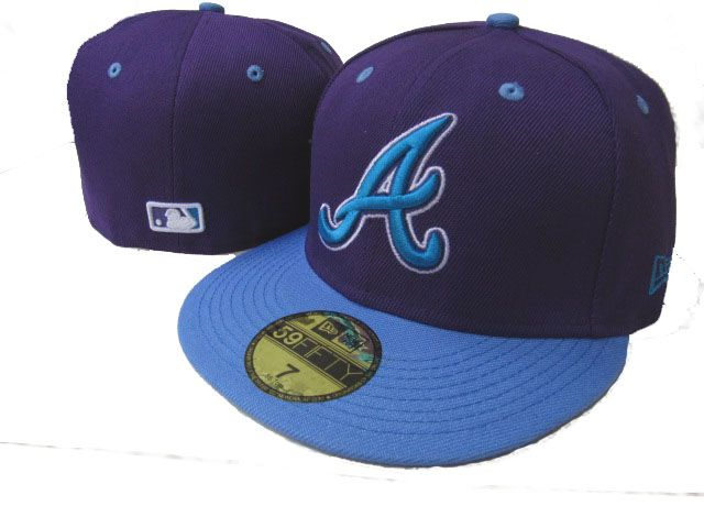 Atlanta Braves MLB Fitted Hat LX42