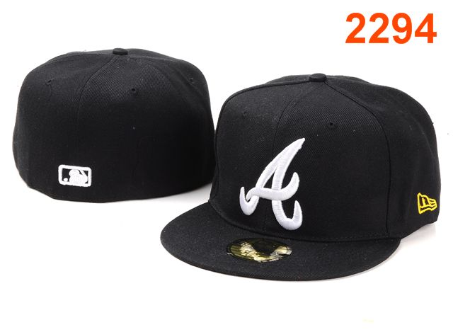 Atlanta Braves MLB Fitted Hat PT01
