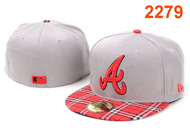 Atlanta Braves MLB Fitted Hat PT02