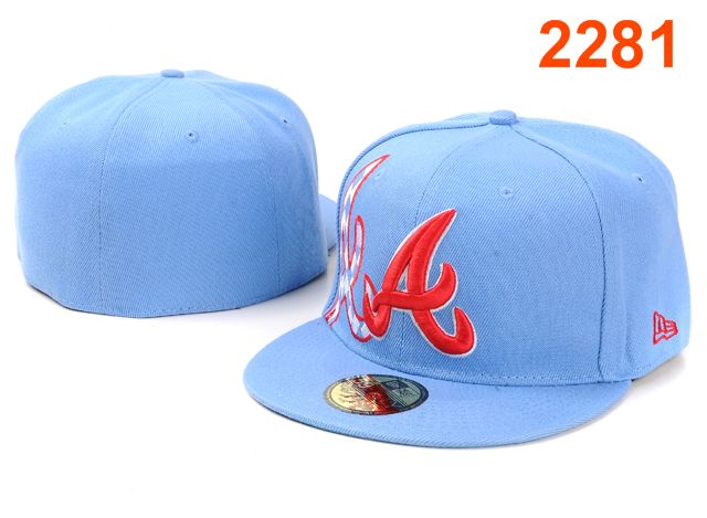 Atlanta Braves MLB Fitted Hat PT03