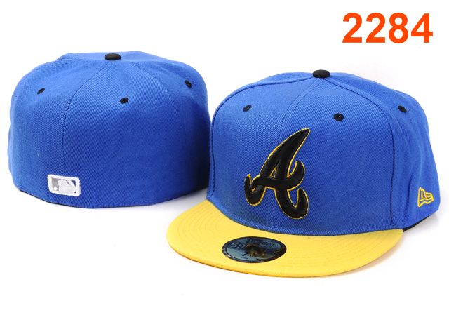 Atlanta Braves MLB Fitted Hat PT04