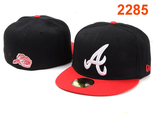 Atlanta Braves MLB Fitted Hat PT05