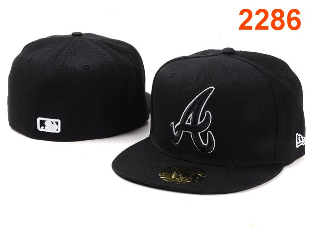 Atlanta Braves MLB Fitted Hat PT06