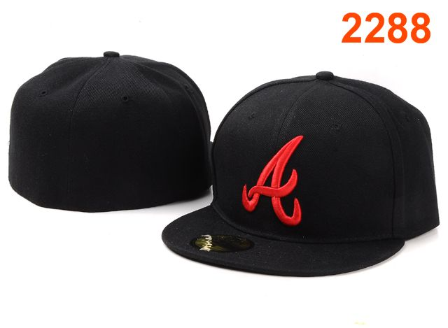 Atlanta Braves MLB Fitted Hat PT08