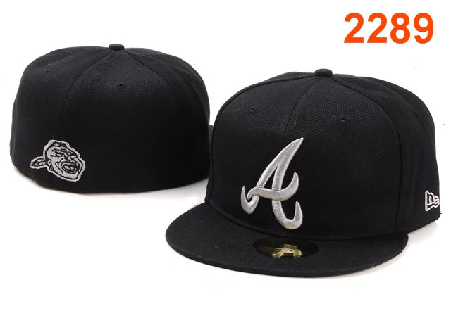 Atlanta Braves MLB Fitted Hat PT09