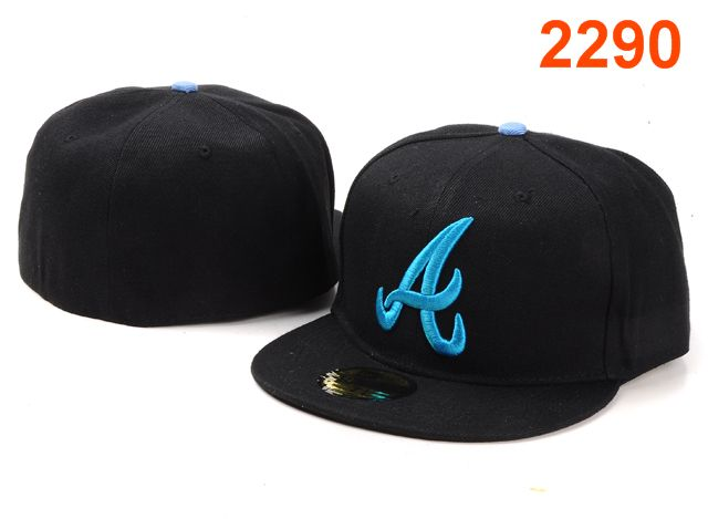 Atlanta Braves MLB Fitted Hat PT10