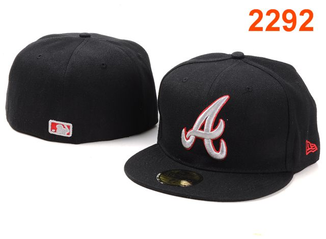 Atlanta Braves MLB Fitted Hat PT12