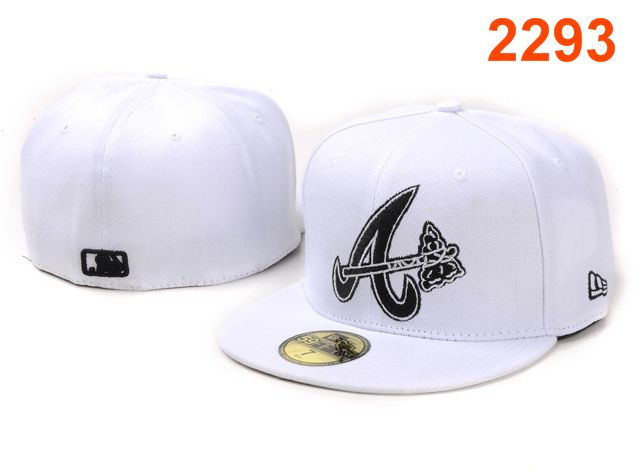 Atlanta Braves MLB Fitted Hat PT13