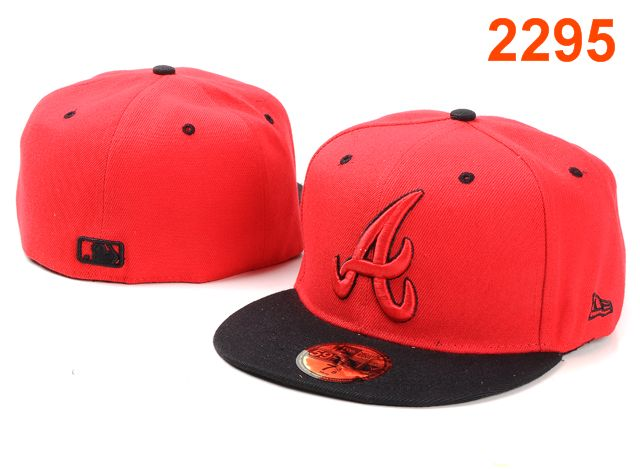 Atlanta Braves MLB Fitted Hat PT14
