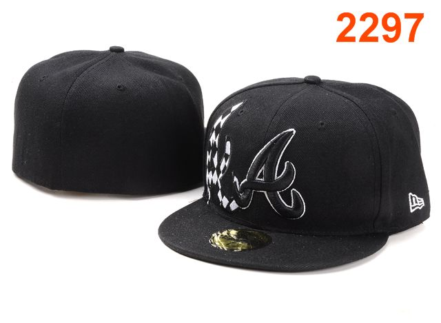 Atlanta Braves MLB Fitted Hat PT16