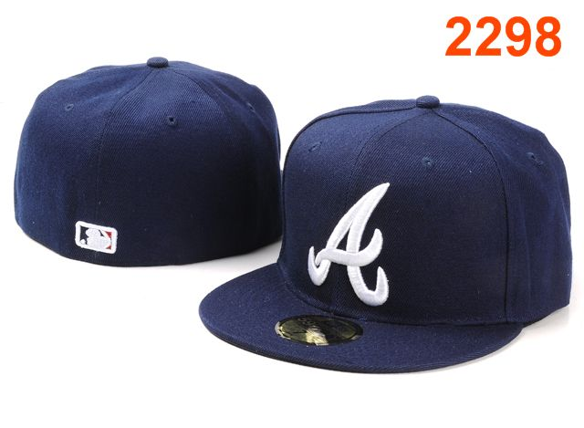 Atlanta Braves MLB Fitted Hat PT17