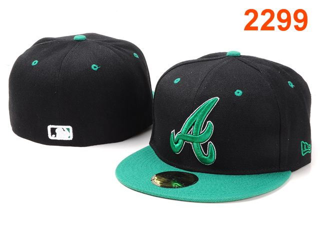 Atlanta Braves MLB Fitted Hat PT18