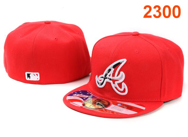Atlanta Braves MLB Fitted Hat PT19