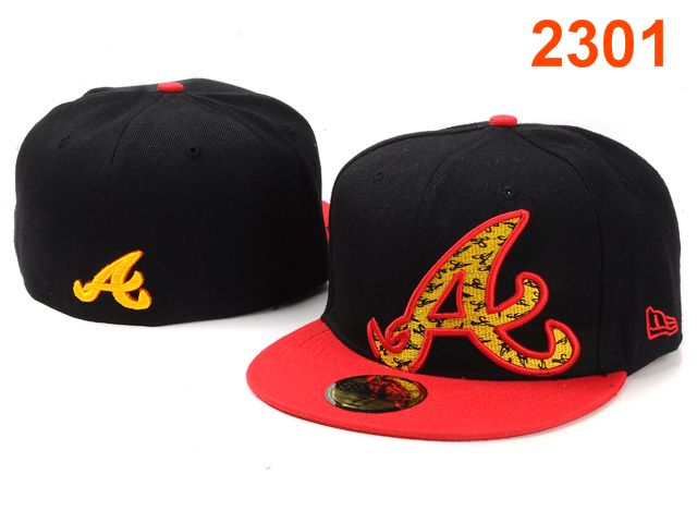 Atlanta Braves MLB Fitted Hat PT20