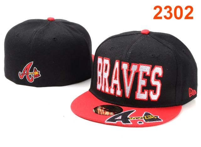 Atlanta Braves MLB Fitted Hat PT21