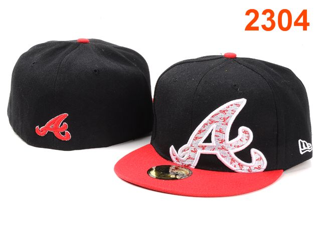 Atlanta Braves MLB Fitted Hat PT23