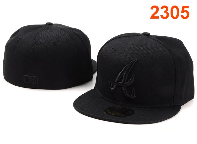 Atlanta Braves MLB Fitted Hat PT24