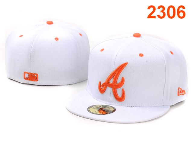 Atlanta Braves MLB Fitted Hat PT25