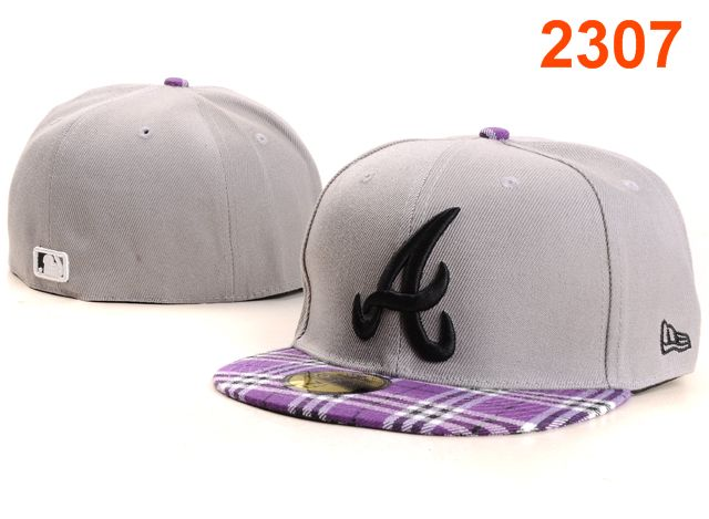 Atlanta Braves MLB Fitted Hat PT26
