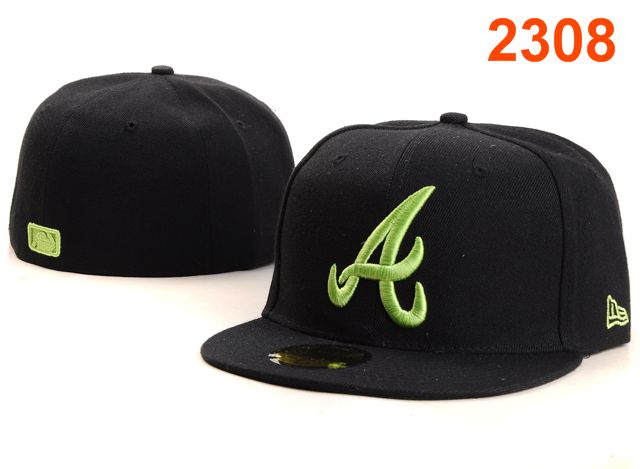 Atlanta Braves MLB Fitted Hat PT27