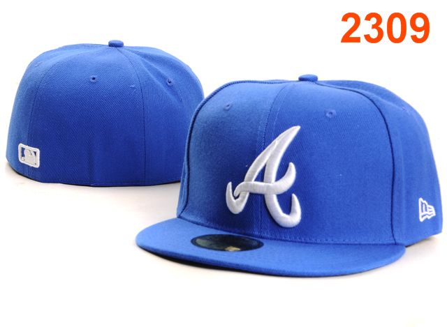 Atlanta Braves MLB Fitted Hat PT28
