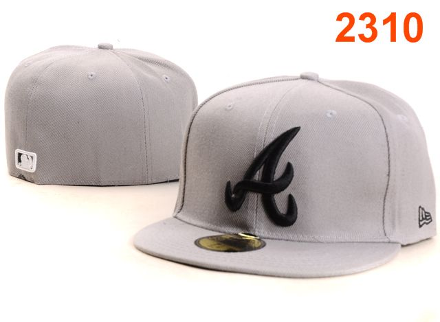 Atlanta Braves MLB Fitted Hat PT29