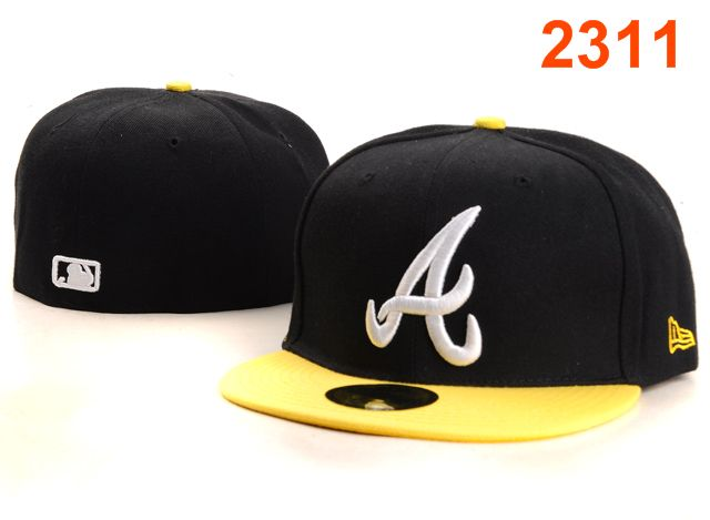 Atlanta Braves MLB Fitted Hat PT30