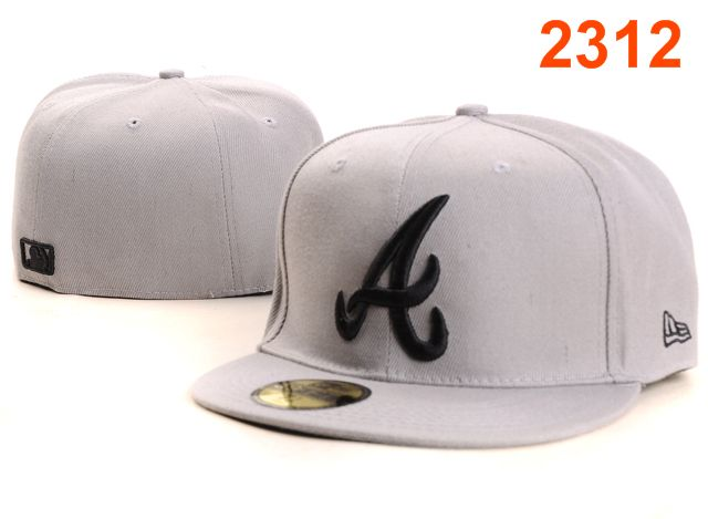 Atlanta Braves MLB Fitted Hat PT31