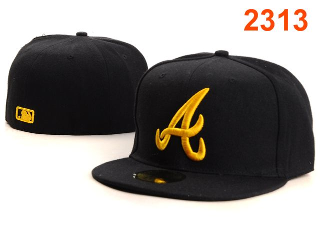 Atlanta Braves MLB Fitted Hat PT32