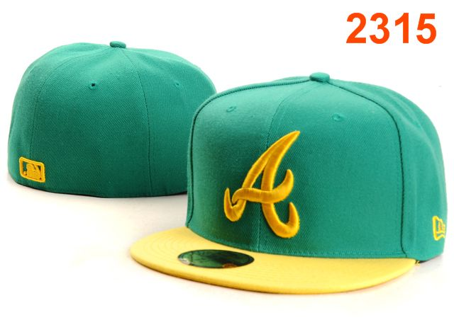 Atlanta Braves MLB Fitted Hat PT34