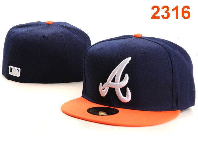Atlanta Braves MLB Fitted Hat PT35