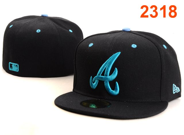 Atlanta Braves MLB Fitted Hat PT37
