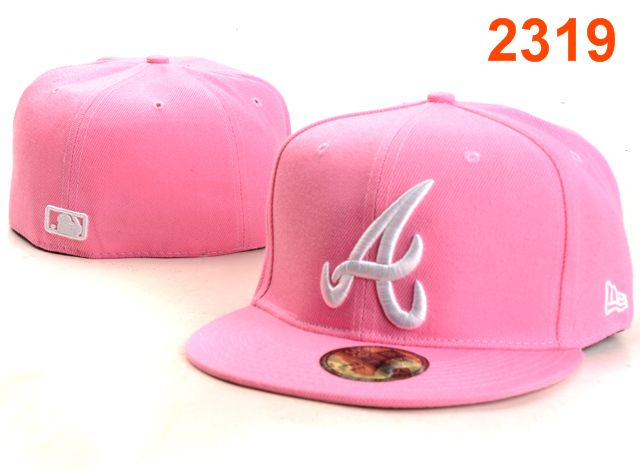 Atlanta Braves MLB Fitted Hat PT38