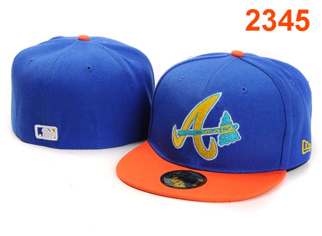 Atlanta Braves MLB Fitted Hat PT40