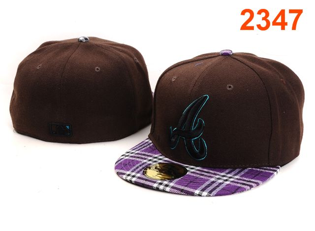 Atlanta Braves MLB Fitted Hat PT41