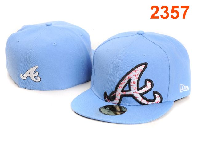 Atlanta Braves MLB Fitted Hat PT42