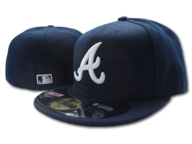 Atlanta Braves MLB Fitted Hat SF1