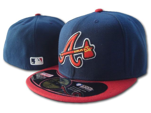 Atlanta Braves MLB Fitted Hat SF2