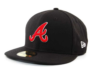 Atlanta Braves MLB Fitted Hat SF4