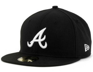 Atlanta Braves MLB Fitted Hat SF5
