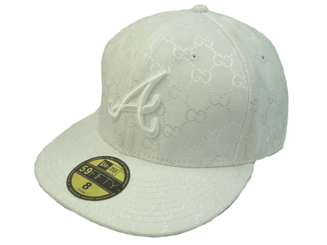 MLB Atlanta Braves Fitted Hat LX3