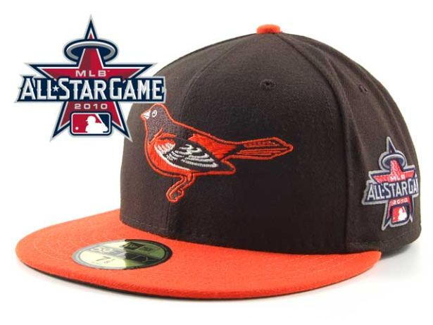 Baltimore Orioles 2010 MLB All Star Fitted Hat Sf03