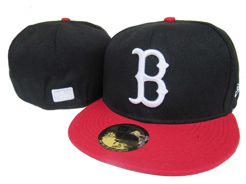 Boston Red Sox MLB Fitted Hat LX04