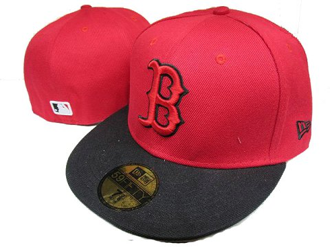 Boston Red Sox MLB Fitted Hat LX07